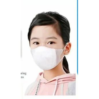 Foto Produk Masker Duckbill Anak dan Bayi 3ply 1 Pack isi 20 pcs Earloop face mask - Anak Putih, 20 Pcs dari AsterooGrosir