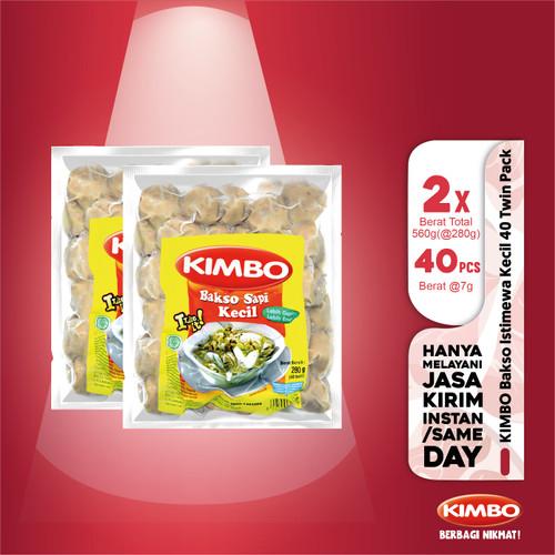 Foto Produk KIMBO Bakso Istimewa Kecil40 Twin Pack dari KIMBO