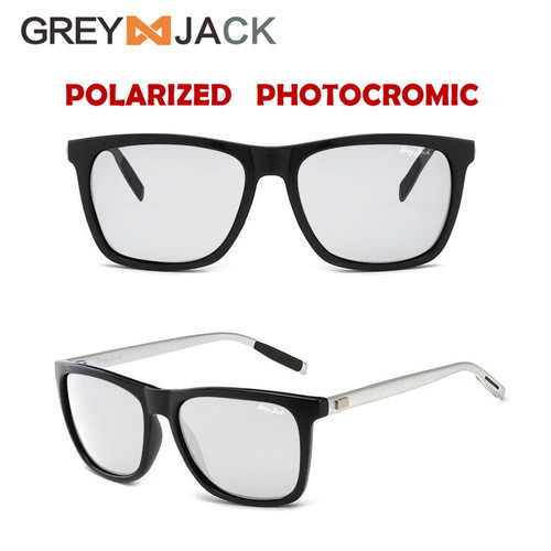 Foto Produk Grey Jack Sunglasses Polarized Photocromic Aluminium magnesium - black silver dari Grey Jack