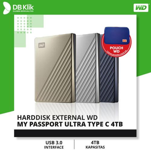 Foto Produk Harddisk External WD My Passport ULTRA TYPE C 4TB - Silver dari dbclick