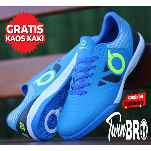 Foto Produk Sepatu Futsal Orts BBS OLAHRAGA OUTDOOR PRIA TERBARU - BIRU BATIK, 39 dari xoxobandung