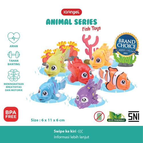 Foto Produk IQ ANGEL NEMO FISH TOYS / MAINAN GERAK IKAN UNTUK EDUKASI ANAK BAYI - Random dari KSM Baby and Kids