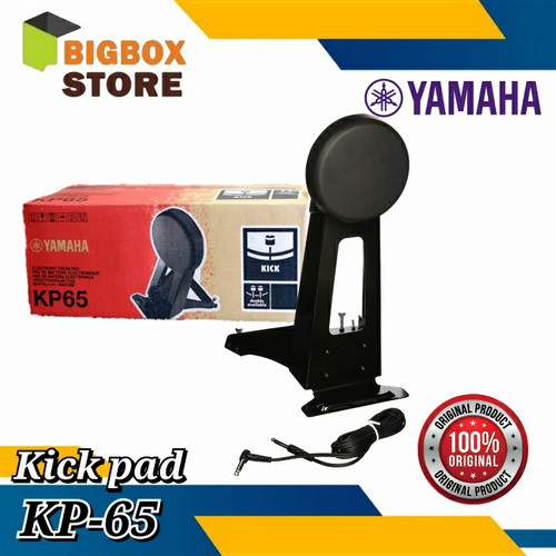 Foto Produk yamaha kick Pad KP-65 / KP65 / KP 65 dari BigBox store