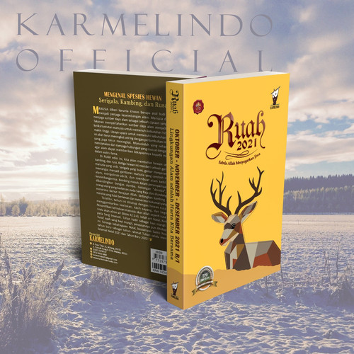 Foto Produk RUAH 2021 OKTOBER-NOVEMBER-DESEMBER (*sesuai TPE dan Mazmur terbaru) dari Karmelindo Official