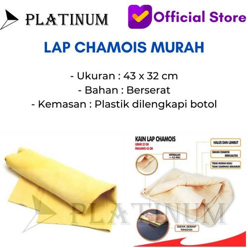 Foto Produk LAP KANEBO PEMBERSIH MOBIL TEBAL SUPER PLAS CHAMOIS MURAH dari PLATINUM CAR PARTS