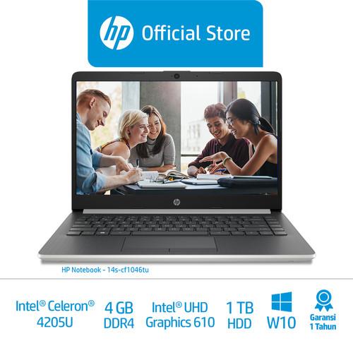 Foto Produk HP Laptop 14s-cf1046TU - Intel Celeron N4205U - 4 GB - 1 TB - W10 dari HP Official