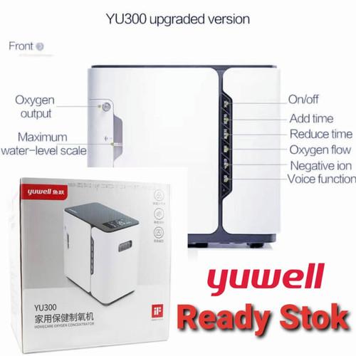 Foto Produk Ready YUWELL YU300 Oxygen Concentrator Mesin Oksigen Generator Murah dari MadisonShop