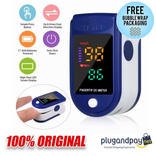 Foto Produk Oximeter Finger Pulse Oxymeter Ori Original LK87 LK 87 dari plugandpay