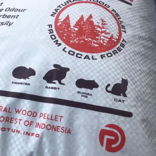 Foto Produk BEST Wood Pellet Cat Litter 7Kg - Pasir Kucing Pelet Kayu dari POTUN