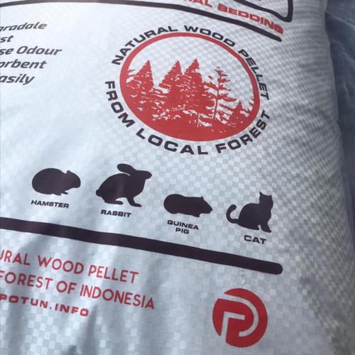 Foto Produk POTUN Premium Wood Pellet Cat Litter 3Kg - Pasir Kucing Pelet Kayu dari POTUN