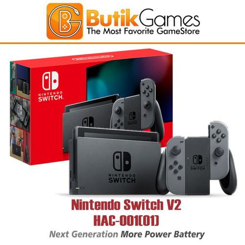 Foto Produk Trade in Nintendo Switch Console V2 New Model Grey Gray dari Butikgames