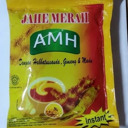 Foto Produk Jahe Merah Amanah AMH 1 renceng isi 12 sachet - Merah dari juanda depok store