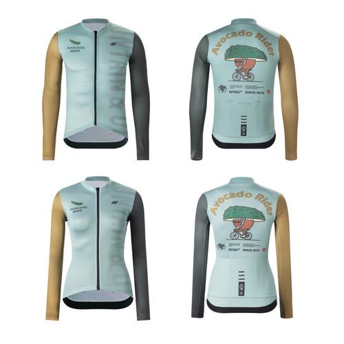 Foto Produk Long Jersey Mysenlan Avocado Rider Green LONG Sleeve dari FittoBike