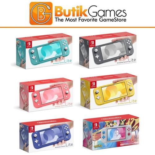 Foto Produk Nintendo Switch Lite Console Mesin - Gray dari Butikgames