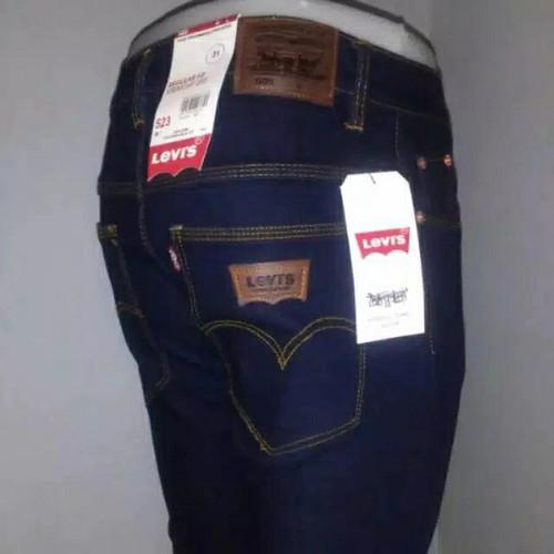 Foto Produk Celana Jeans Levis skinny/pensil lelaki Blueblack size 25 & 26 - Blueblack, 26 dari toko jeans isya