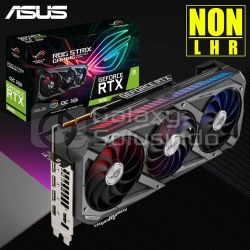 Foto Produk ASUS GeForce ROG STRIX RTX 3090 OC 24GB GDDR6X - Ampere dari GASOL SUMBERSARI
