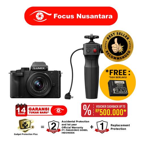 Foto Produk Panasonic Lumix DC-G100 with 12-32mm Lens + Tripod Grip Kit dari Focus Nusantara