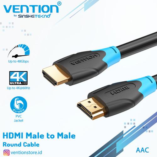 Foto Produk Vention [AACBE 0.75M] Kabel HDMI 3D v2.0 4K UHD High Speed Quality - AAC dari VENTION by SinsheTekno