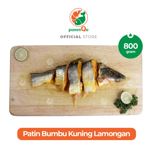 Foto Produk PanenQu Ikan Patin Bumbu Kuning Lamongan - 800 gram dari PanenQu Jakarta Official Store