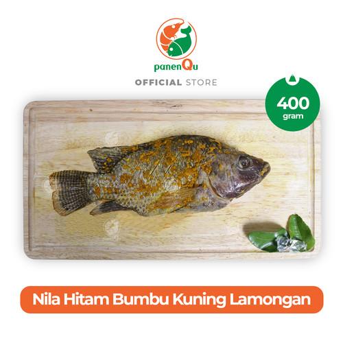 Foto Produk PanenQu Ikan Nila Hitam Bumbu Kuning Lamongan - 400 gram dari PanenQu Jakarta Official Store