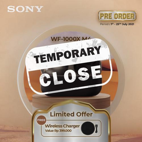 Foto Produk SONY WF-1000XM4 Black Noise Canceling Truly Wireless / WF1000XM4 dari Sony Audio Official