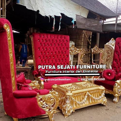 Foto Produk Kursi tamu sofa tamu belagio ala sultan dari Putra Sejati Furniture