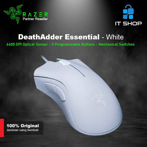 Foto Produk Razer Mouse DeathAdder Essential - White dari IT-SHOP-ONLINE