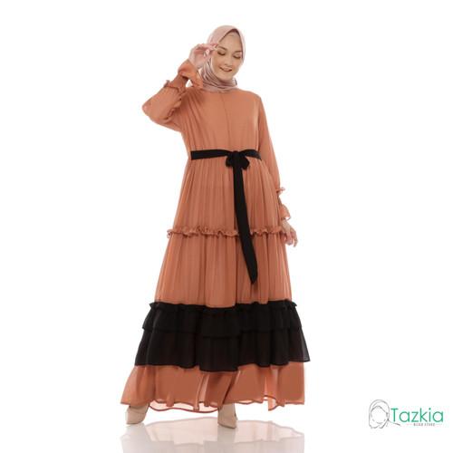 Foto Produk Dress Muslim Wanita| Gamis Brunella Milo | Tazkia Hijab Store - M dari Tazkia Hijab Store