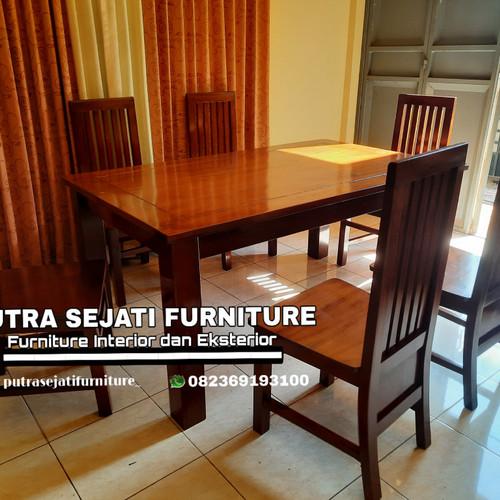 Foto Produk Ready stock kursi makan meja makan minimalis dari Putra Sejati Furniture