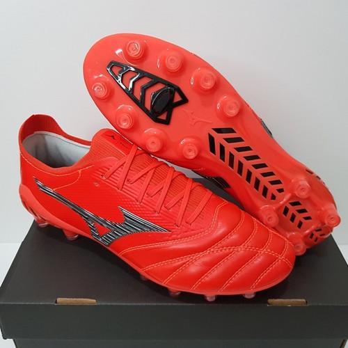 Foto Produk Sepatu Bola - Soccer Mizuno Morelia Neo 3 BETA Ignition Red - FG dari Cross Sport