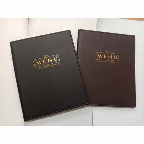Foto Produk buku menu cafe resto model ring/baut dari cover menu bandung