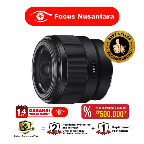 Foto Produk SONY FE 50mm f/1.8 dari Focus Nusantara