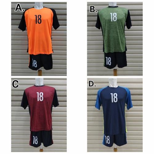 Foto Produk Setelan Kaos TIM Sepak Bola / Baju TEAM SET 18pcs dari c0wsSport