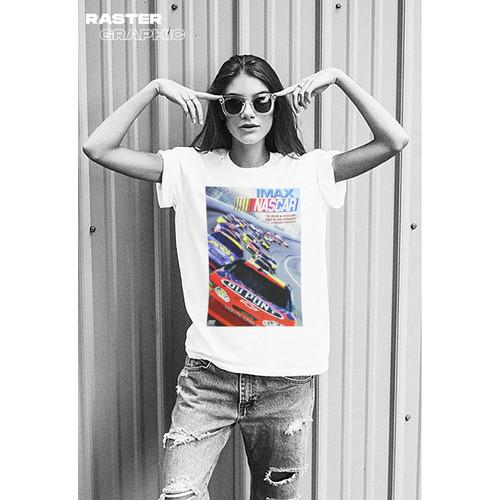 Foto Produk Kaos Nascar vintage| Tshirt custom | DTG kornit by Tokokaos dari Raster Graphic Print