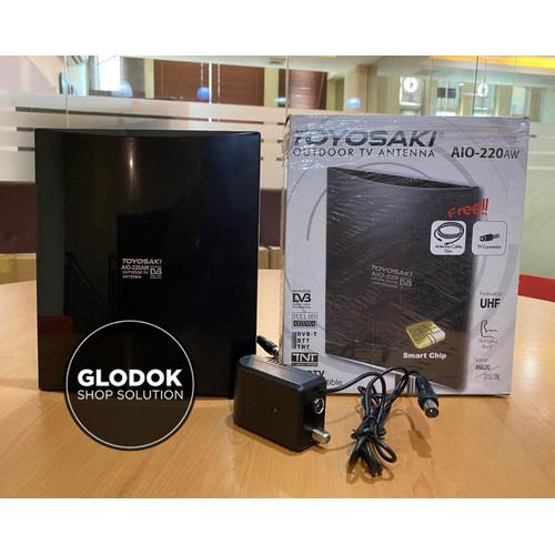 Foto Produk ANTENA TV DIGITAL INDOOR OUTDOOR TOYOSAKI AIO-220 / AIO 220 DVB T2 dari Glodok shop solution