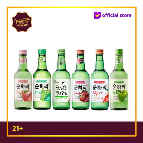 Foto Produk TERLARIS Soju Korea Chum Churum Original All Variant - Grape dari Waroeng Wine GS