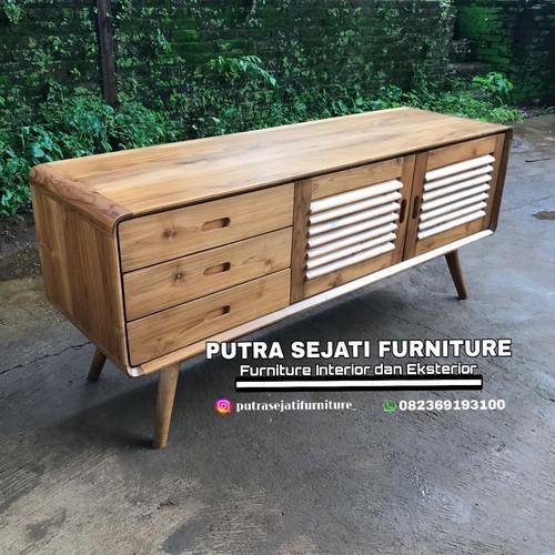 Foto Produk bufet tv minimalis retro import dari Putra Sejati Furniture