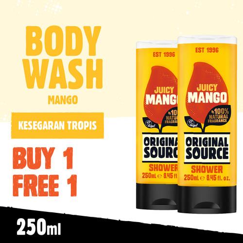 Foto Produk Original Source Mango 250ml - Buy 1 Get 1 dari Cussons Official Store