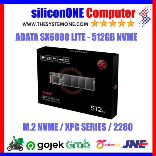 Foto Produk ADATA SSD XPG SX6000 LITE 512GB SX6000LITE 512 GB NVME M2 dari silicon ONE Computer