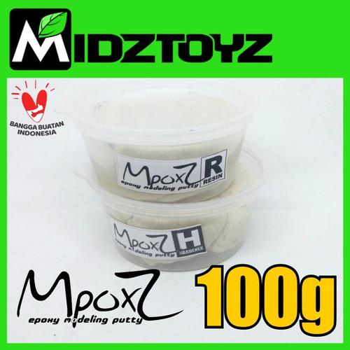 Foto Produk MpoxZ Epoxy putty 100g Gading Putih dari Midztoyz