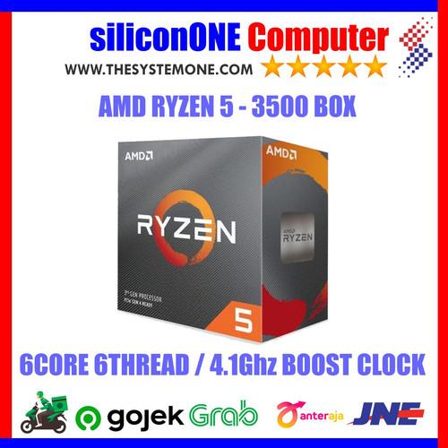 Foto Produk AMD Processor RYZEN 5 - 3500 dari silicon ONE Computer