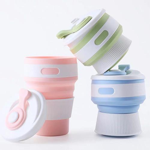 Foto Produk Stojo / Foldable Cup / Gelas Lipat Multifungsi / Silicone Cup - Biru dari sosoyo