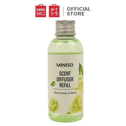 Foto Produk Miniso 60ml Isi Ulang Miniso Scent Diffuser Aromaterapi Replenisher - Mawar hijau dari Miniso Indonesia