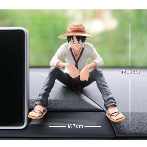 Foto Produk Pajangan Dashboard One Piece Luffy &Snow Hiasan dekorasi Mobil Premium - Luffy (Man) dari Gentleman Car