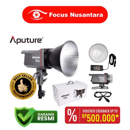 Foto Produk APUTURE Amaran 100x Bi-Color LED Light dari Focus Nusantara