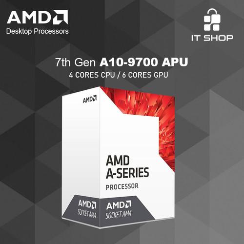 Foto Produk Processor AMD AM4 A10-9700 APU dari IT-SHOP-ONLINE