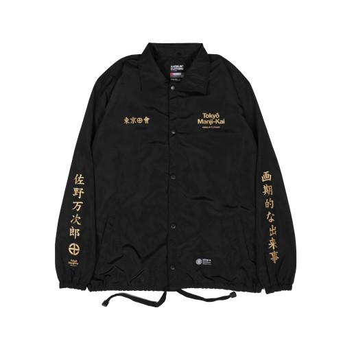 Foto Produk KREMLIN Coach Jacket Hitam - Manji Kai - M dari KremlinOfficial
