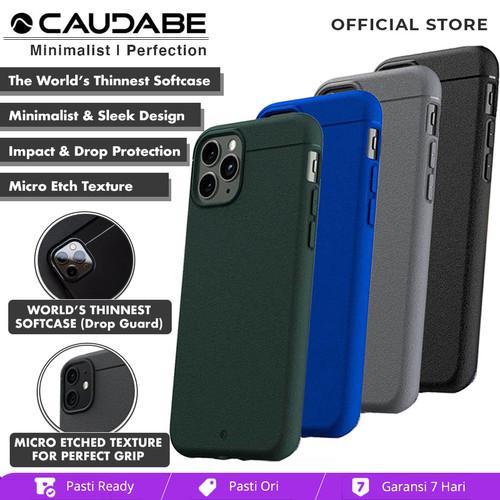 Foto Produk Original Caudabe Sheath Case iPhone 11 Pro Max / 11 Pro / 11 - Casing - iPhone 11ProMax, Black dari Caudabe Official