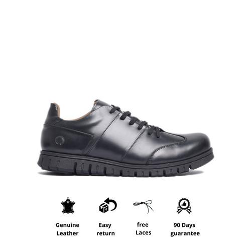 Foto Produk Sepatu Kerja Kulit Otiv Neo Bianca Black - 39 dari Otiv Store