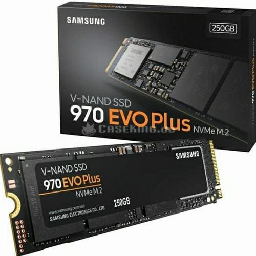 Foto Produk SSD SAMSUNG 970 EVO PLUS M.2 NVME 250GB MURAH GARANSI RESMI dari PojokITcom Pusat IT Comp